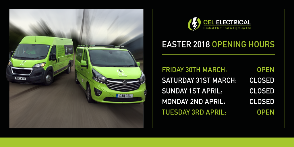 Easter Holiday 2018 Opening Times