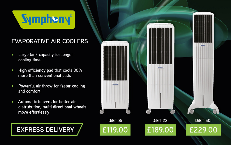 Symphony Evaporative Air Coolers Available Now