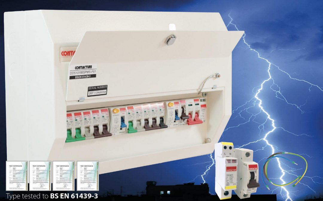Contactum Metal Consumer Unit & Surge Protection Offer