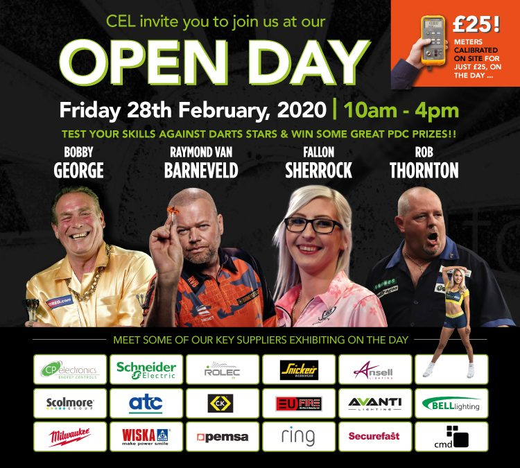 CEL Electrical OPEN DAY 2020