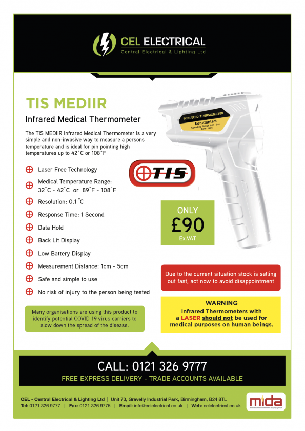 Infrared Medical Thermometer