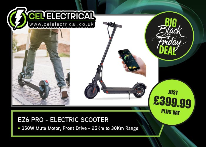 Black Friday Deal: EZ6 Pro Electric Scooter