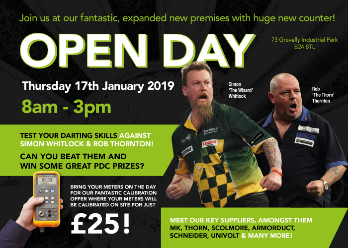 CEL OPEN DAY – 17th January, 2019