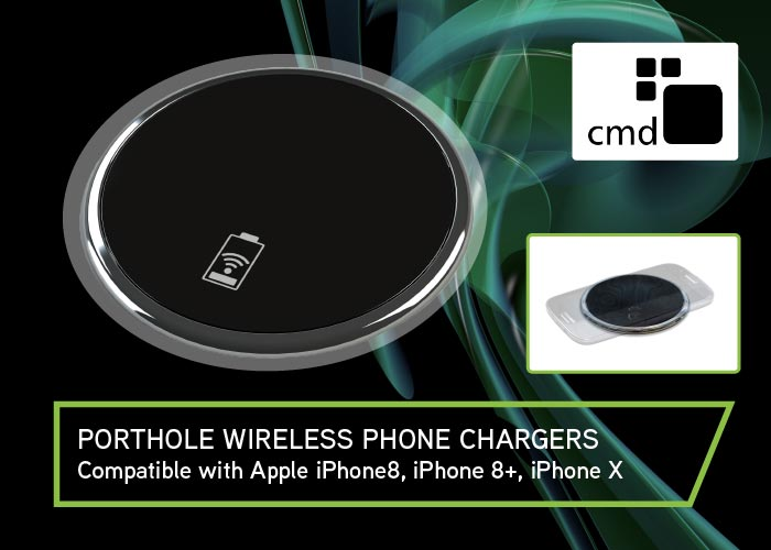 PORTHOLE QI WIRELESS INDUCTION CHARGER