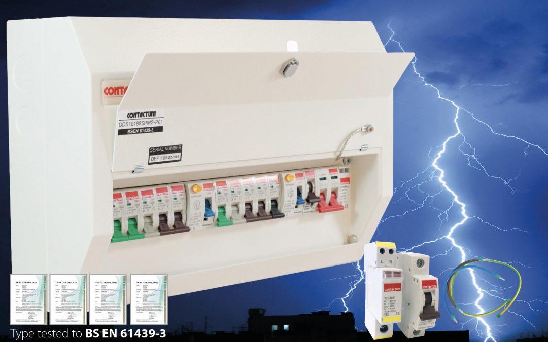 defender surge protection consumer unit cel electrical