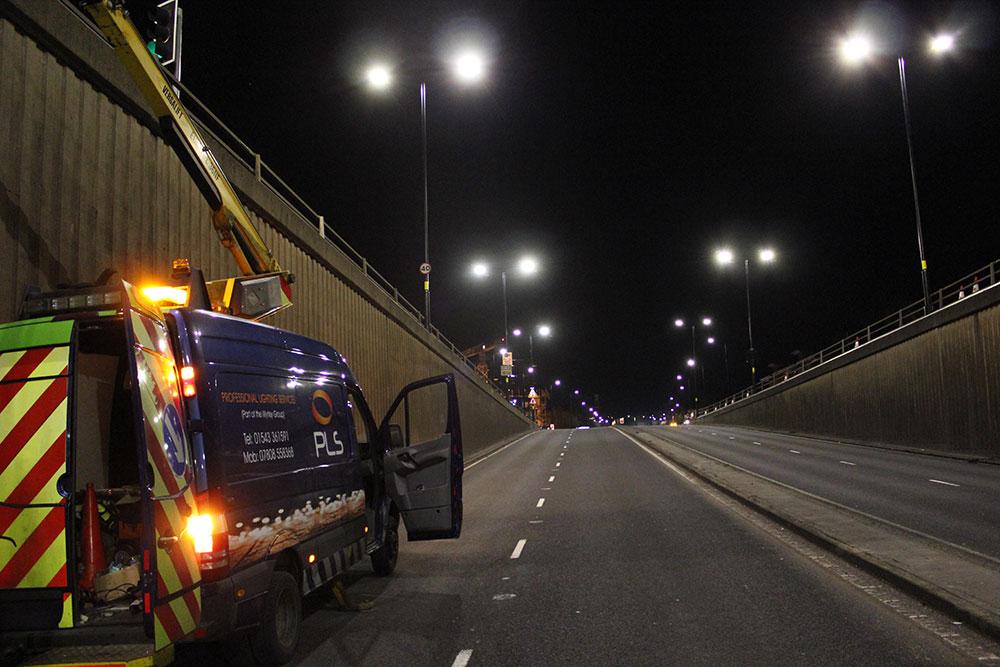 CEL & PLS Upgrade Birmingham City Centre Lighting