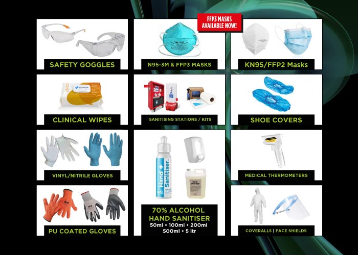 CEL Electrical huge range of PPE on sale now